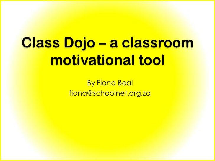 Classroom Dojo – a class motivational tool