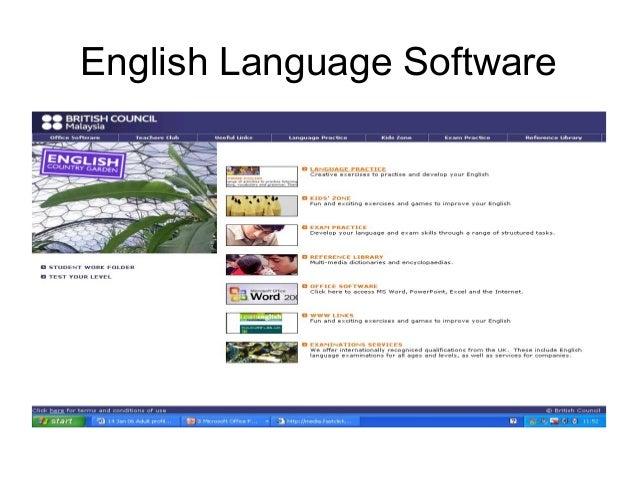 English Language Software