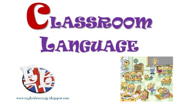 Classroom language (balloons)