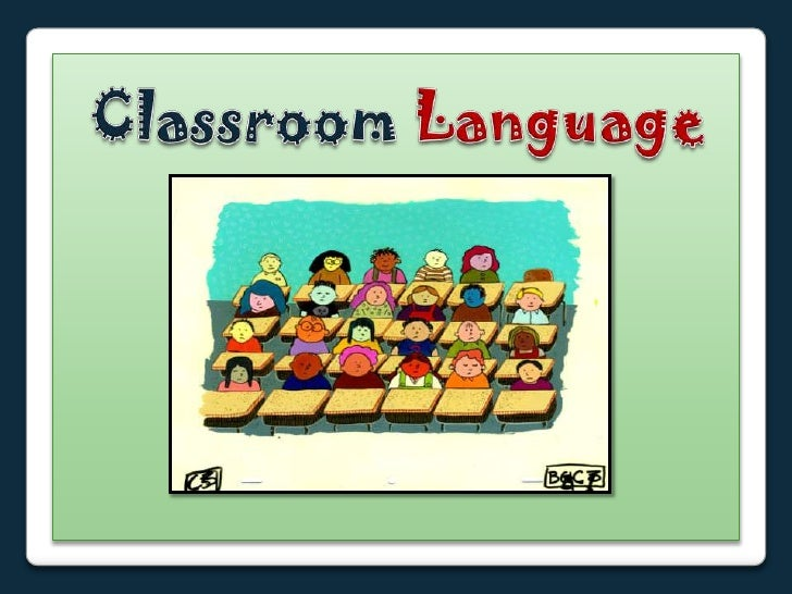 Resultado de imagen de Classroom Language