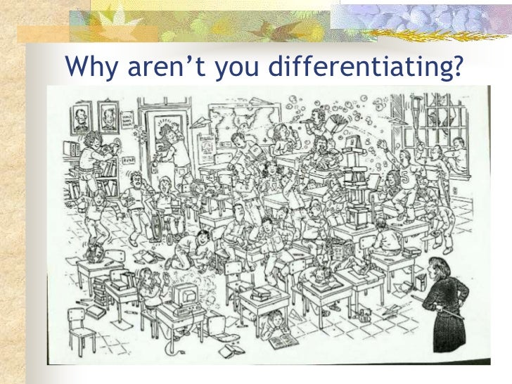 Why aren't you differentiating?<br />