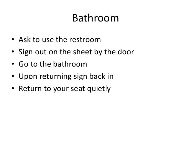 Classroom Sign in Sheet Sign Out on The Sheet by