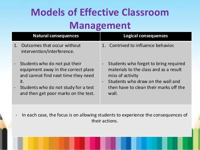 a classroom management model The heart of the assertive discipline model is that students must take responsibility for their own behavior assertive discipline, classroom management strategies.