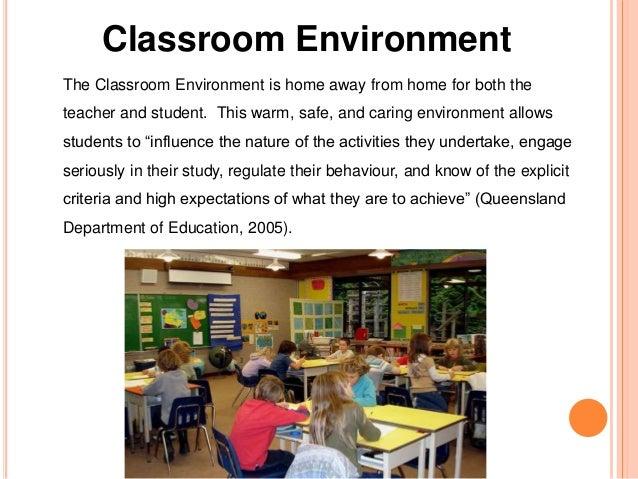 positive classroom environment essay