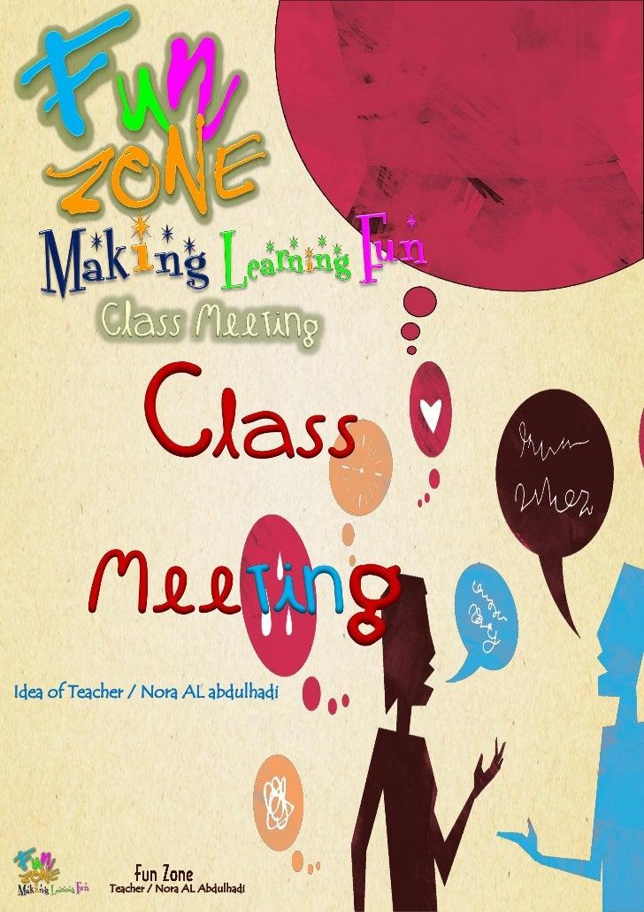 Classroom meeting2