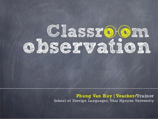 sped classroom observation essay