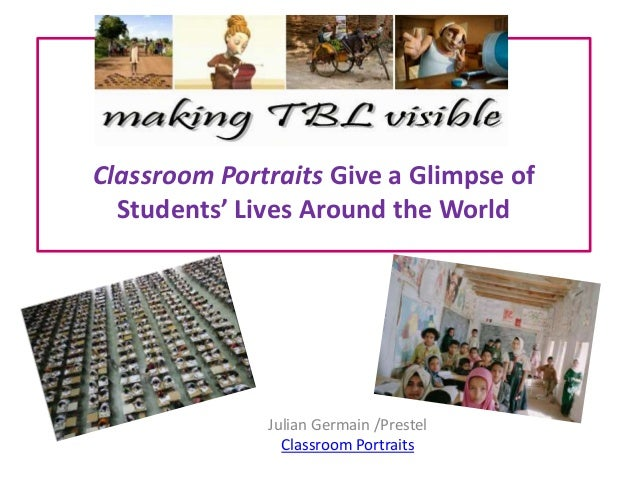 Classroom portraits give a glimpse of students'