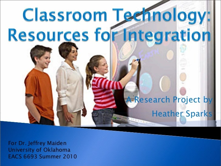 Classroom technology resources_for_integration