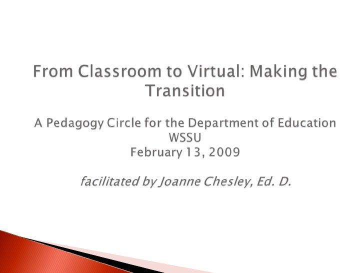 Classroom To Virtual2003 B