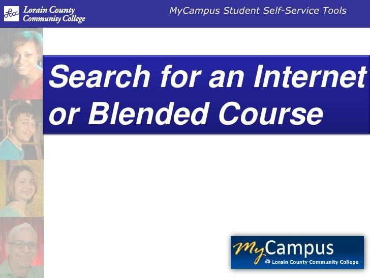 Course Search - Internet or Blended Class