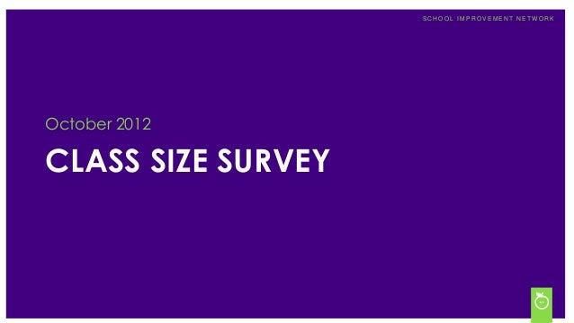 Class Size Survey