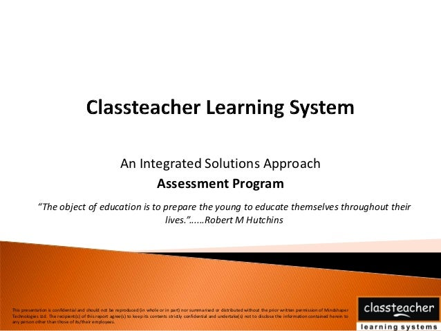 How Classteacher Assessment Program Helps Students.