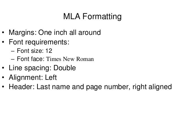 mla format font style In this tutorial, i will show you how to make mla style templates in  can follow  most of the same steps to format your document in mla style  set your font to  12 pt times new roman, and your set spacing to 20 — double.