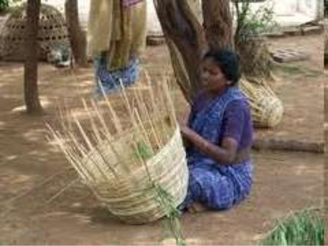 Basket Weaving Example Of Which Industry : Industries class viii cbse