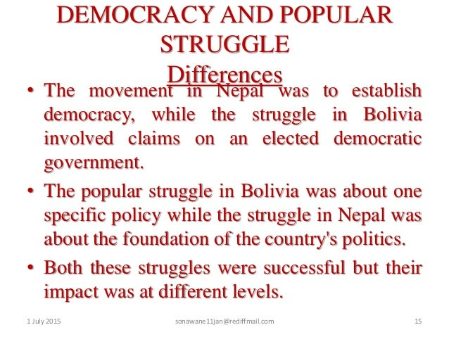 the effects of democracy on nepal Nepal's 1990 establishment of multiparty democracy within the framework of a constitutional monarchy opened up legitimate political space for all groups, including the maoists and mr oli's .