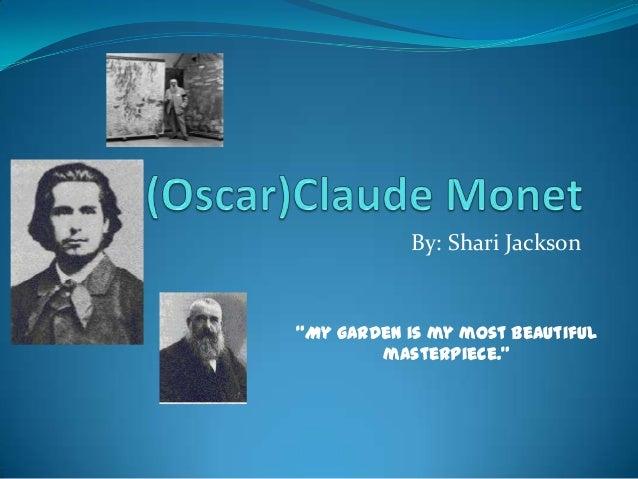 Claude monet presentation