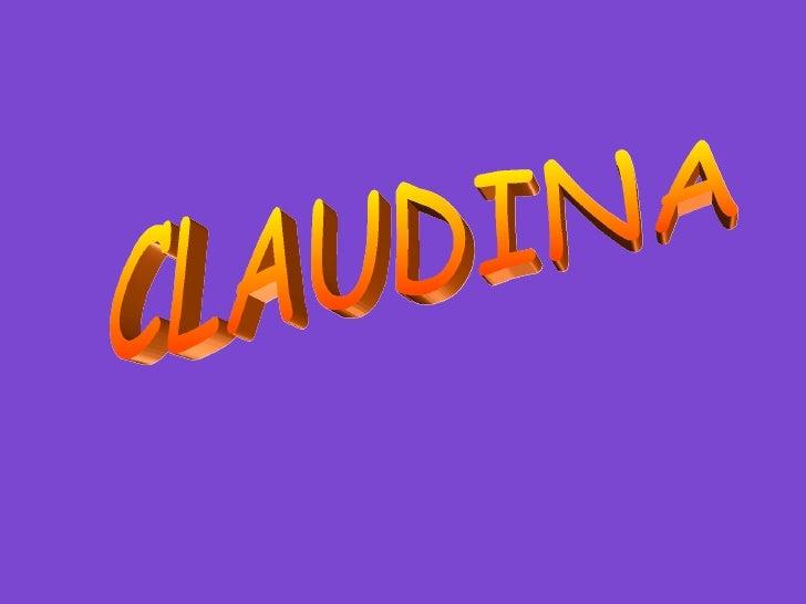 Claudina historia epo cortita
