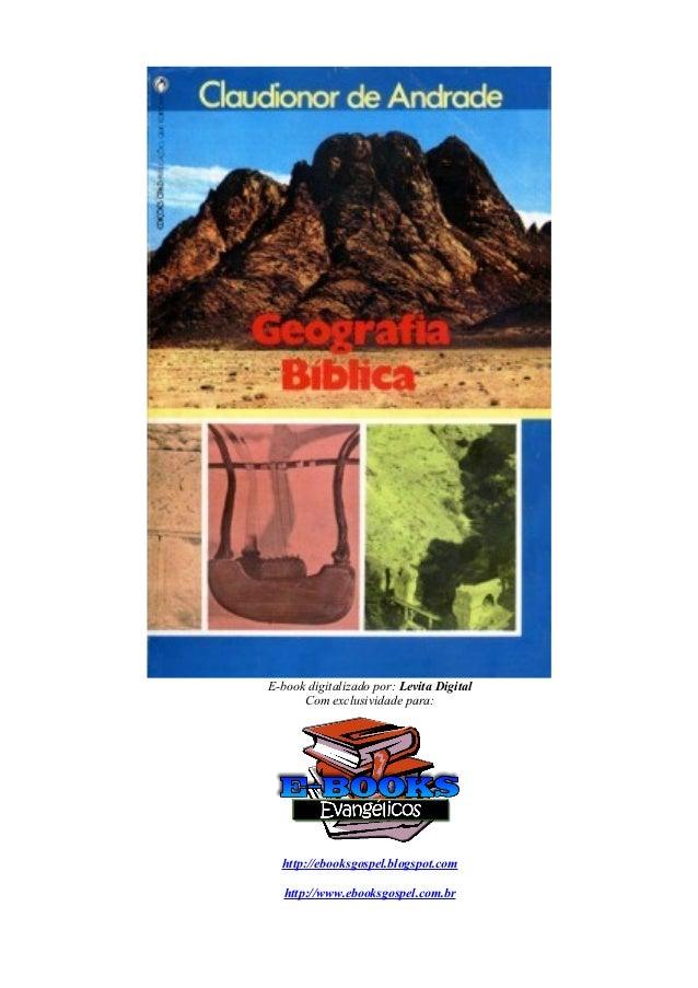 E-book digitalizado por: Levita Digital      Com exclusividade para:  http://ebooksgospel.blogspot.com   http://www.ebooks...