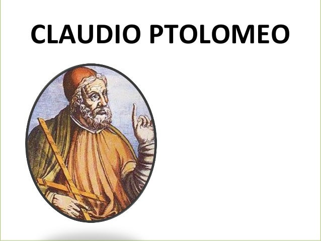 CLAUDIO PTOLOMEO