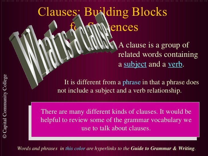 Clauses.pps