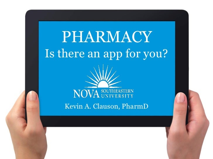 Pharmacy: Is there an app for you