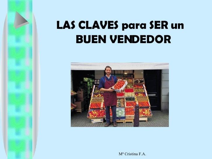 Claves De Un Buen Vendedor