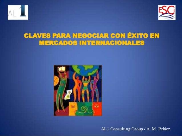 Claves de la Negociación Multicultural