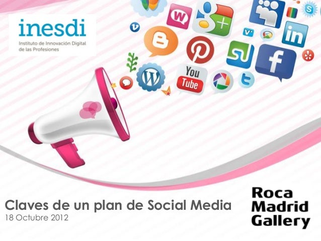 Claves de un Plan de Social Media por Gema Minayo