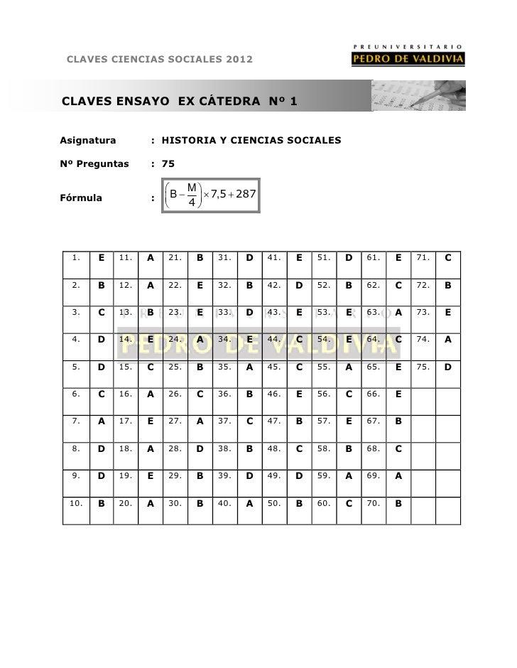 PDV: [Claves] Historia N°2 (2012)