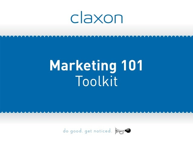 Marketing 101 Toolkit