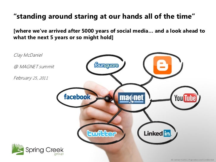 """""""standing around staring at our hands all of the time""""[where we""""ve arrived after 5000 years of social media… and a look ah..."""