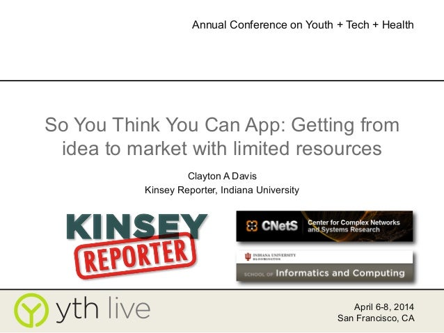 So You Think You Can App?