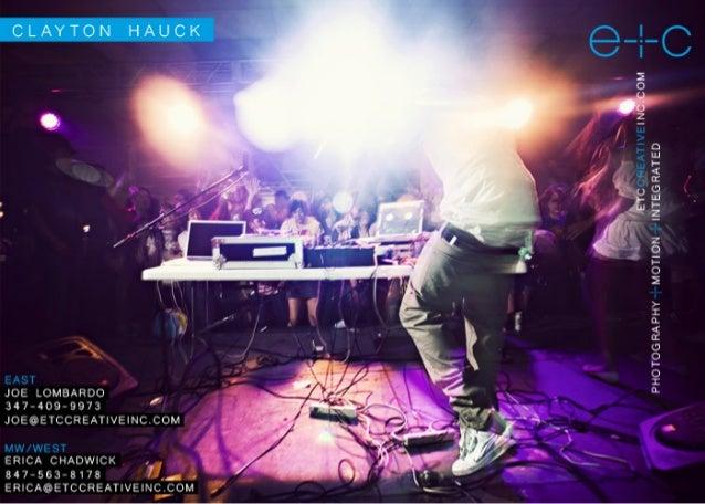 Clayton Hauck - Lifestyle
