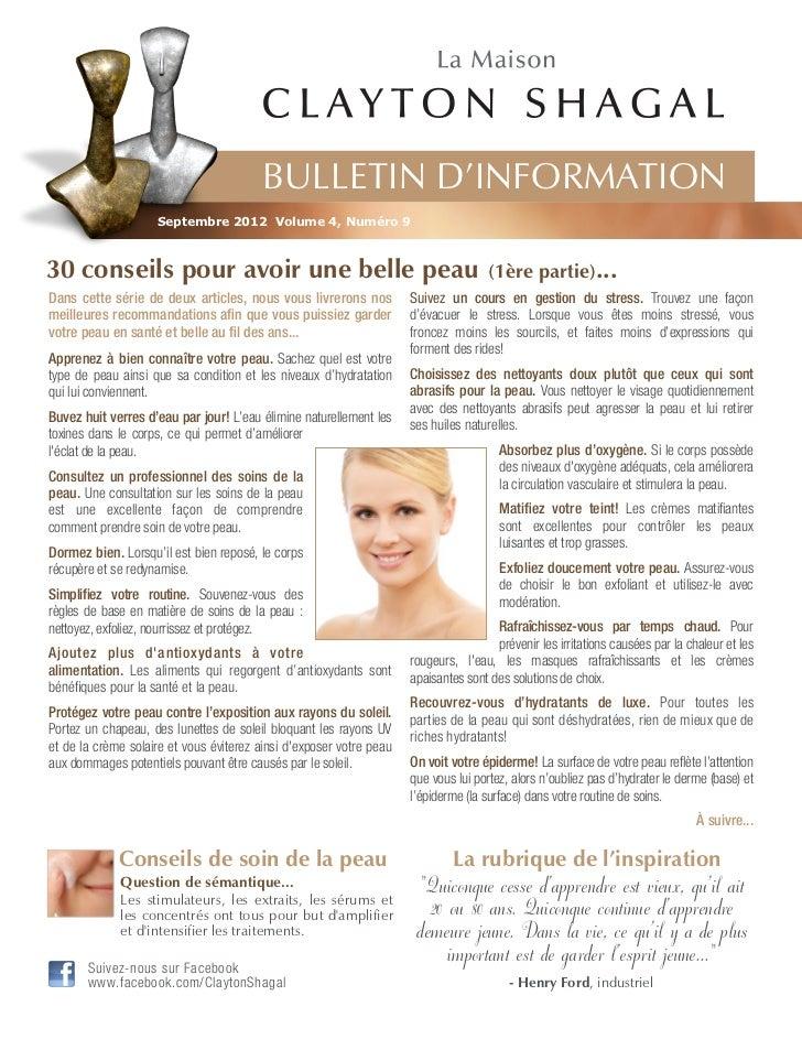 30 conseils pour avoir une belle peau 1 re partie for Astuces maison pour une belle peau