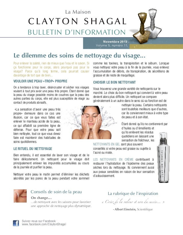 Le dilemme des soins de nettoyage du visage