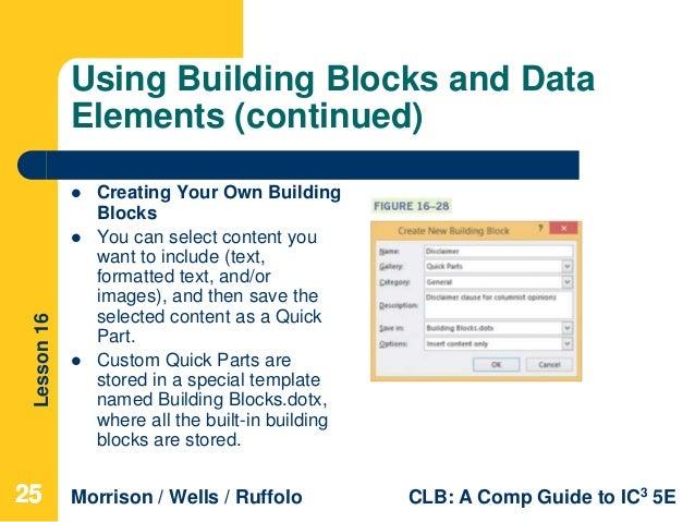 Building Blocks Dotx Location