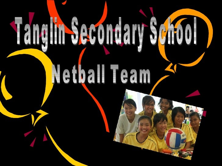Tanglin Secondary School Netball Team