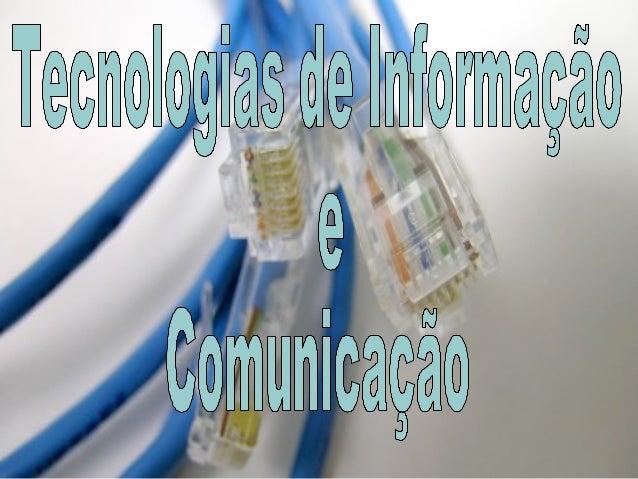 Clc 5 tecnologias de informação e comunicação