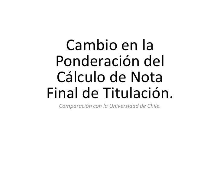 Cálculo Nota Final