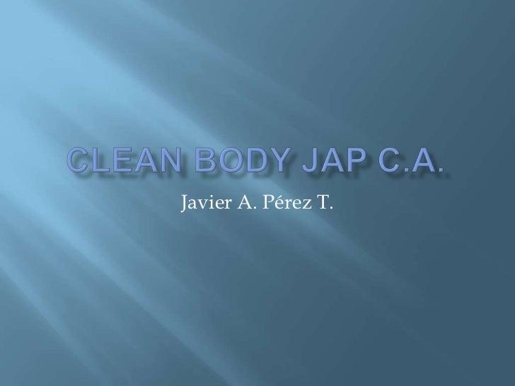 Clean Body JAP c.a.