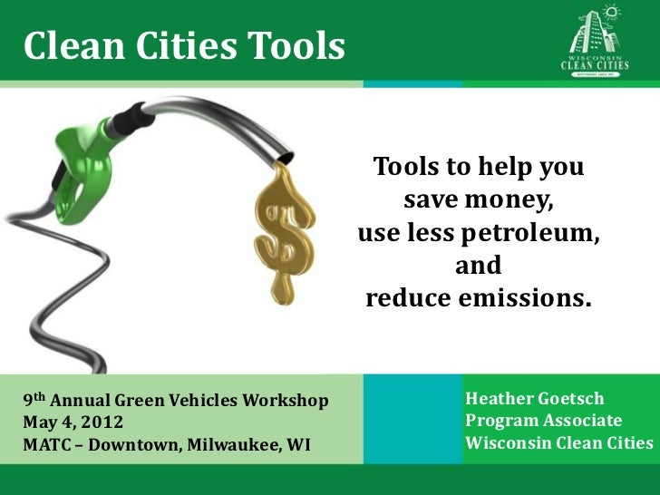 Clean Cities Online Tools and Resources