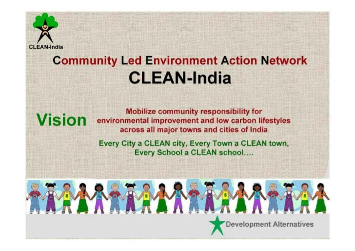 Green city clean city essay
