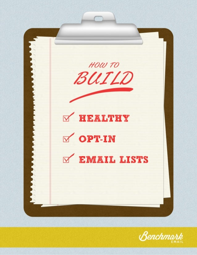 Cleaning House:  How to Build Healthy Email Lists  Introduction  Email marketing has become very technical over the years....