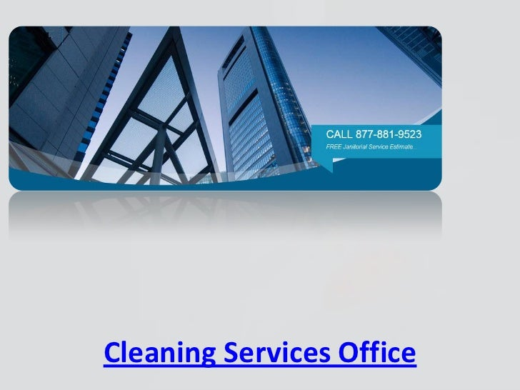 Cleaning Services Office
