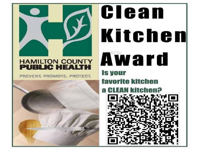 Clean Kitchen Award Winners September 2013 - From Hamilton County Public Health