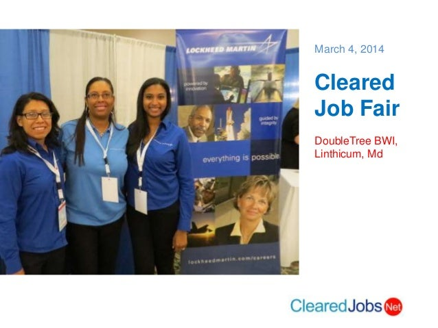 March 4 Cleared Job Fair, BWI, Md