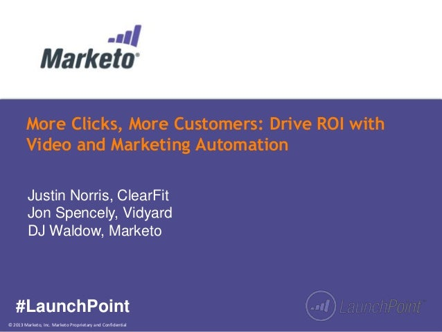 More Clicks, More Customers: Drive ROI with Video and Marketing Automation