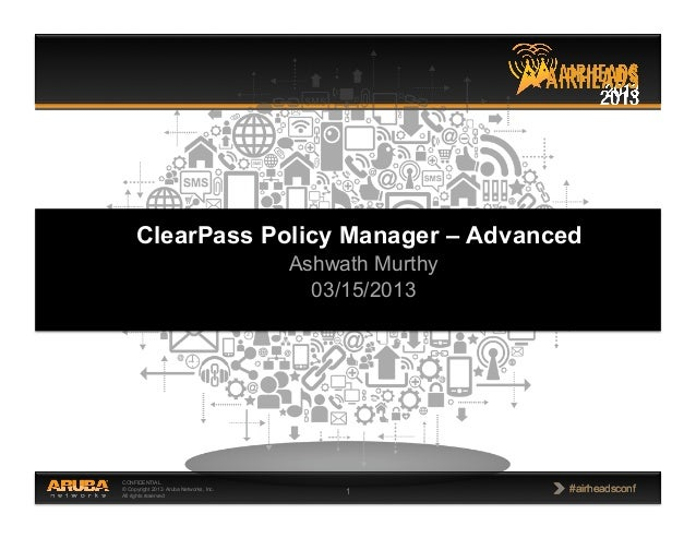 Clear pass policy manager advanced_ashwath murthy