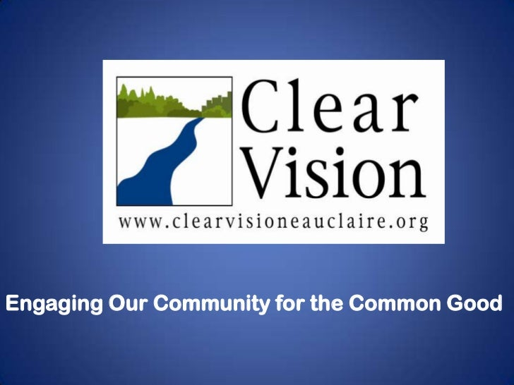 Engaging Our Community for the Common Good