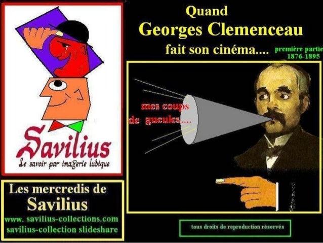 Clemenceau fait son cinéma